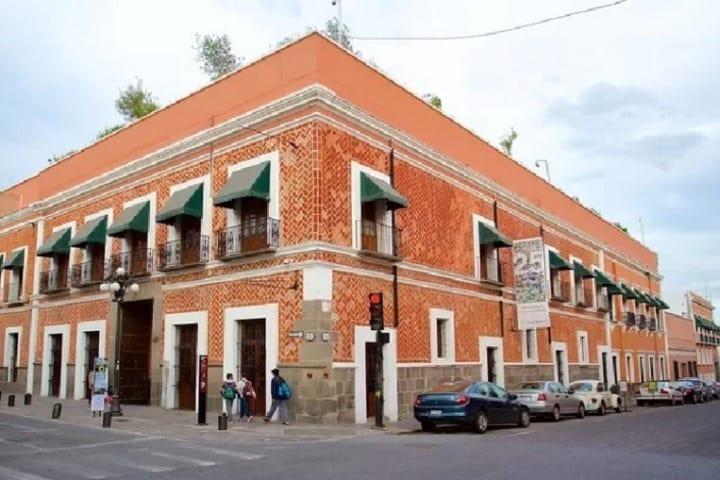 Museo Amparo en Puebla. Foto: Periódico Central