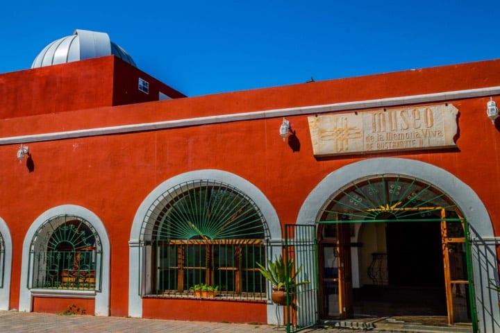 Museo de la Memoria Viva en Bustamante, Pueblo Mágico de Nuevo León. Foto: Nuevo León Extraordinario