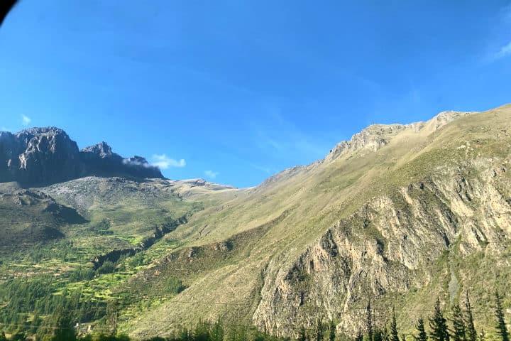 Tren Inca Rail a Machu Picchu. Foto F Delventhal