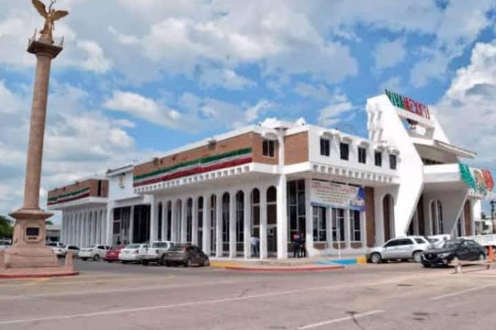 Palacio Municicpal de Navojoa, Sonora. Foto: Virgilio Anguamea
