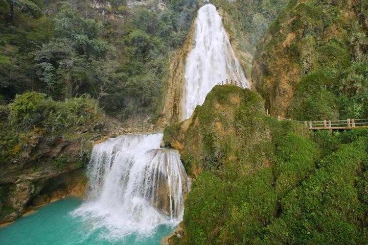 Parque Natural de la Gruta de Cacahuamilpa Foto: Tips para tu viaje