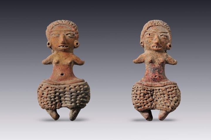 Figuras de personas en el Museo Amparo. Foto: Archivo