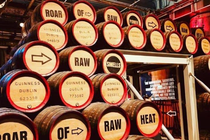 Conoce el primer piso de la fábrica. Foto: Guinness Storehouse