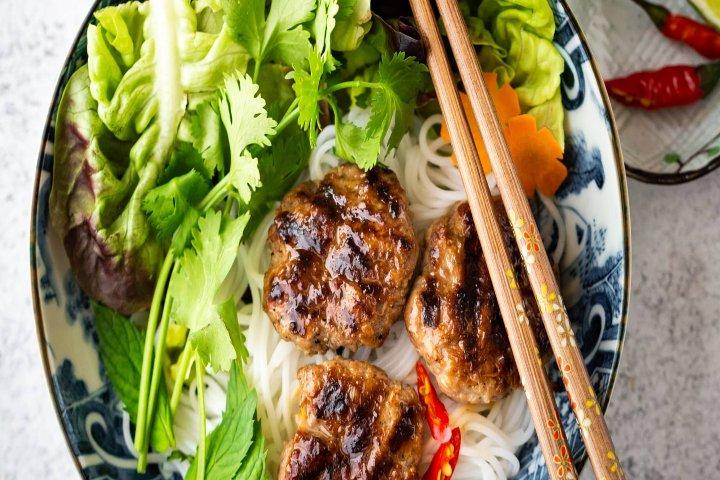 Platillos Vietnam- Delightful Plate