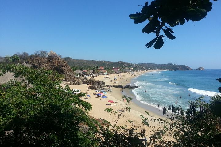 Playa Zipolite. Foto: Gay Mexico Map