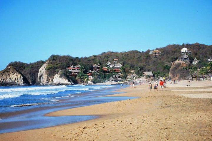 Playa Zipolite. Foto: Periodico Viaje