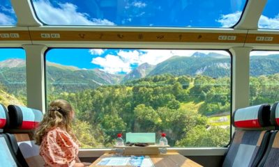 Portada. Glacier Express en Suiza. Imagen: little_pinkmacaron