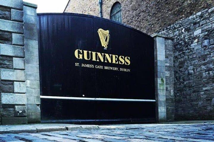 Las puertas de la fábrica se abrirán para ti. Foto: Guinness Storehouse