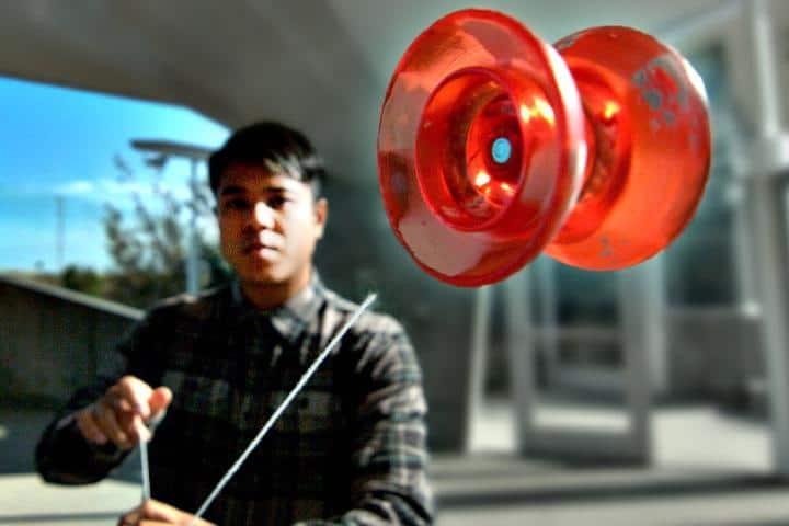 Yo yo juguete tradicional mexicano. Imagen: archivo