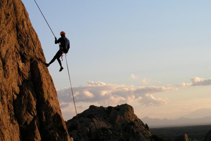 Rappel en la cascada de Tumal ¡Será emocionante! Foto: Semanario Punto y Aparte