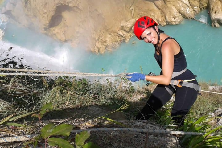 Rappel en cascada la Tamul. Foto: Adventure Mexico.travel