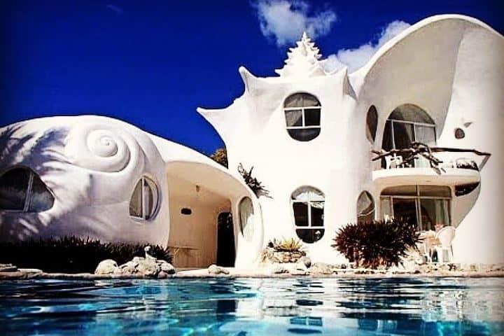 La Casa Caracol de Isla Mujeres es espectacular. Foto: hoteldream_reviews
