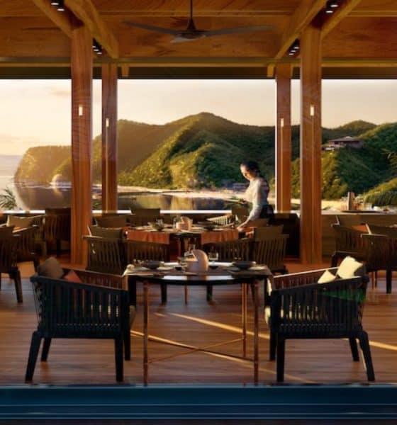 Restaurante Carao del Chef Enrique Olvera en hotel Mandarina. Foto: Archivo