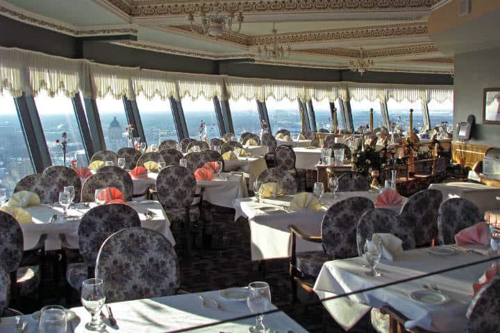 Revolving Dining Room. Foto Robert Linsdell