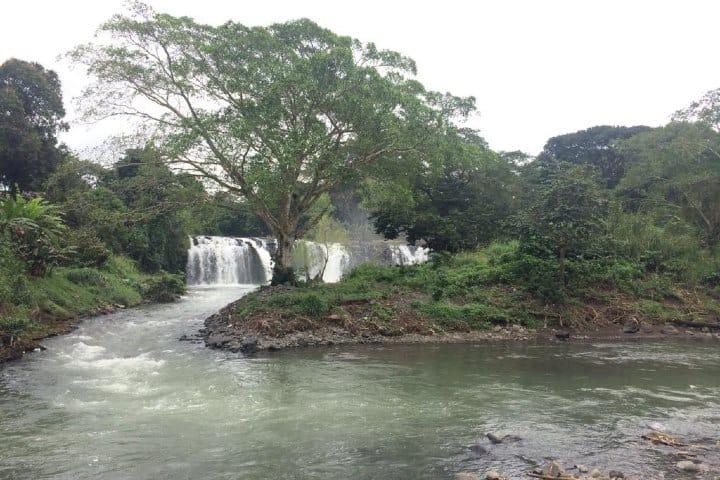 Río Zapopan en Santiago de Tuxtla, Veracruz. Foto: Yezbeli García