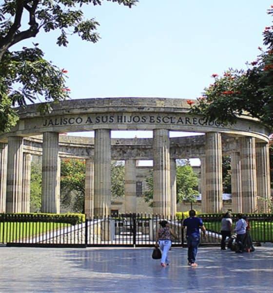 Rotonda de los Jalicienses Ilustres, Jalisco. Foto: NTR Guadalajara