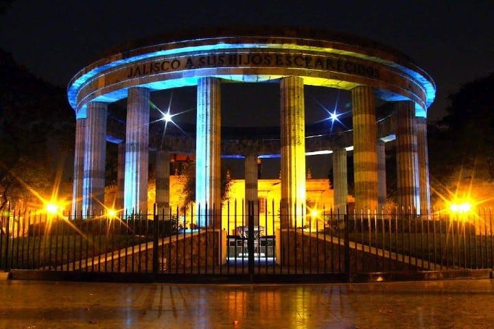 Rotonda de los Jaliscienses Ilustres, Jalisco. Foto: Archivo