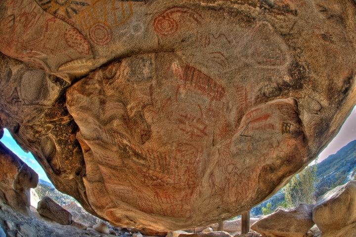 La Rumorosa en Baja California es considerado un sitio de arqueología. Foto: Archivo