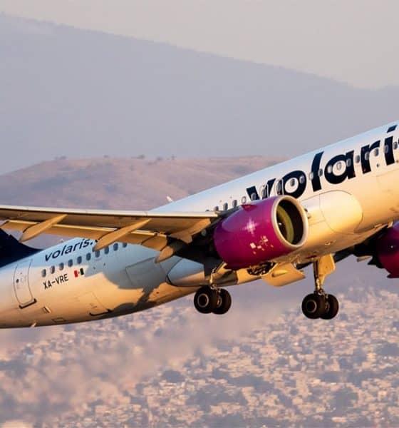 Ruta Volaris CDMX - Fresno. Foto: En El Aire
