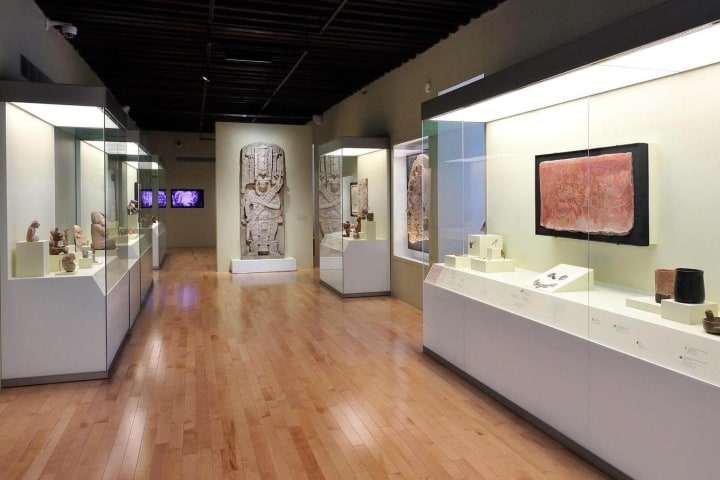 El México antiguo; Salas de Arte Prehispánico, Museo Amparo en Puebla. Foto: Archivo