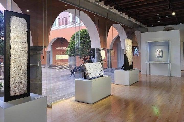 Sala 5 del Museo Amparo. Foto: Archivo