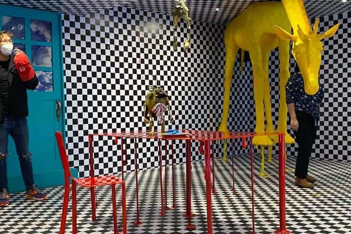 Exposición Dreams en CDMX. Foto: San Var