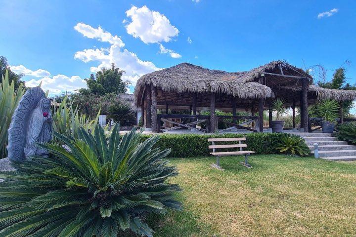 Salón de eventos de Ecocamp Providencia en Irapuato. Foto: Archivo