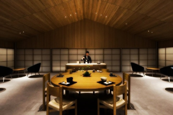 Salones de Guntu. Foto: Forbes