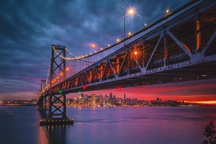 San Francisco es una hermosa ciudad. Foto: Todays California
