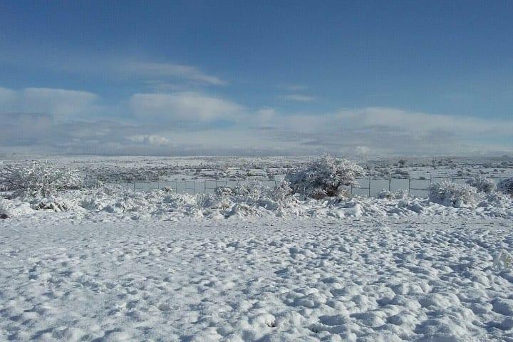 San José de Gracia en Aguascalientes es uno de los destinos en México para disfrutar de la nieve. Foto: Archivo