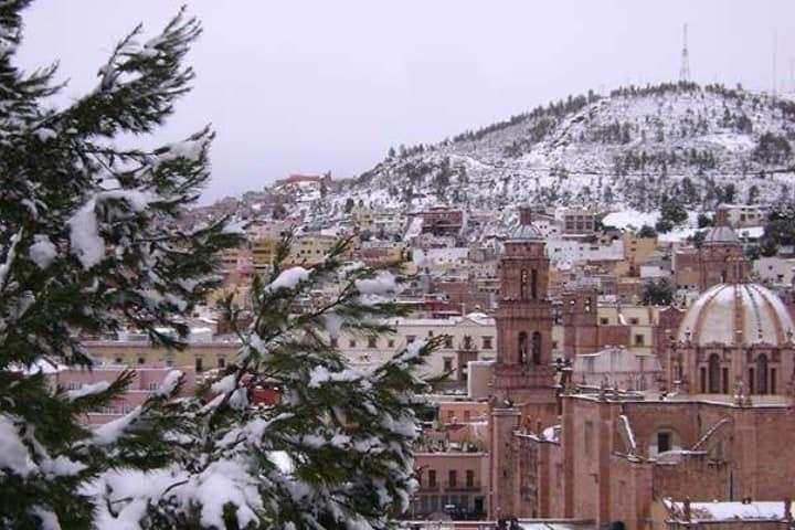 Sombrerete es uno de los destinos en México para disfrutar de la nieve. Foto: Pinterest