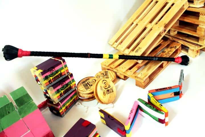 Las tablitas mexicanas son consideradas un juguete artesanal. Foto: El caracol