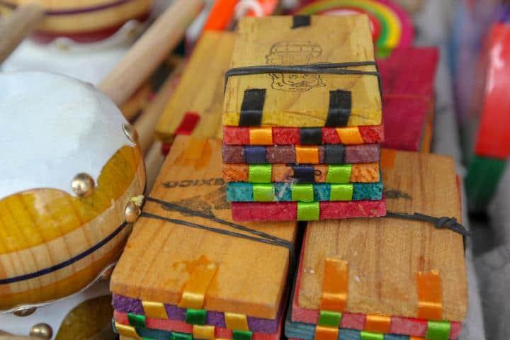 Juguete de tablitas mágicas mexicanas. Foto: Posta