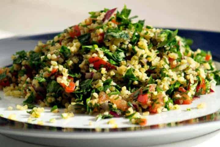 Video cocinando comida Árabe en Jordania