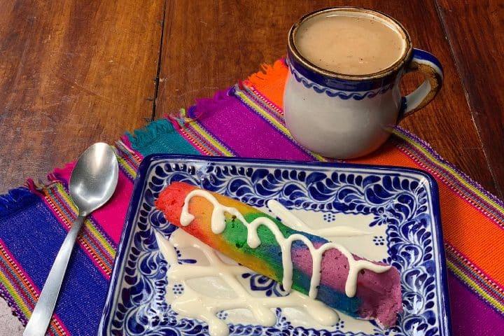 Tamal Arcoíris, en pro de la comunidad LGBT+. Foto: Archivo