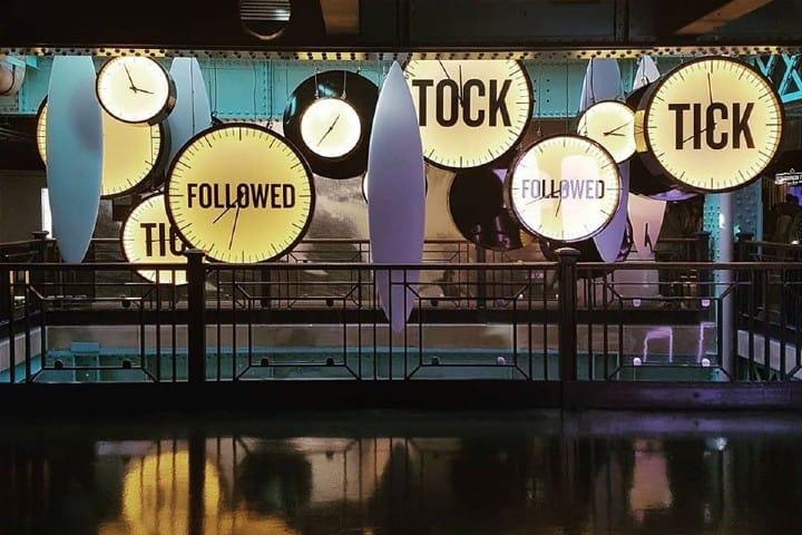 En el tercer piso tomarás una deliciosa cerveza y disfrutarás de la decoración ¡Es fabulosa! Foto: Guinness Storehouse