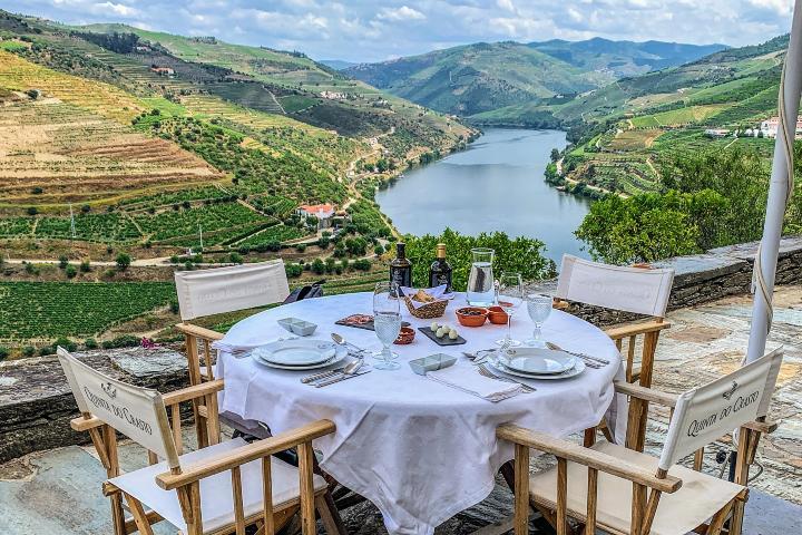 ¡Las vistas son impresionantes! Foto: Portugal By Wine