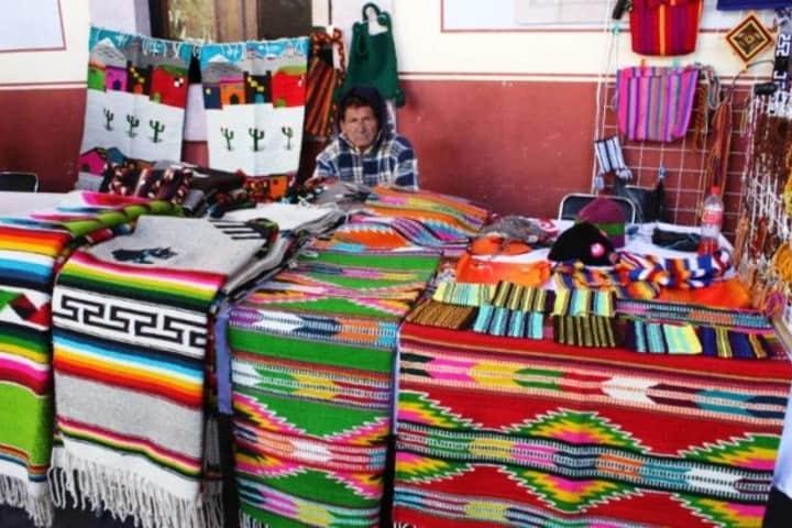 Encontrarás artesanías de textiles en Zacatecas. Foto: Express Zacatecas