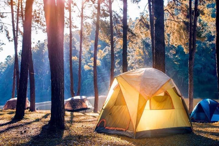 Este lugar es perfecto para acampar. Foto: Blog Viva Aerobus
