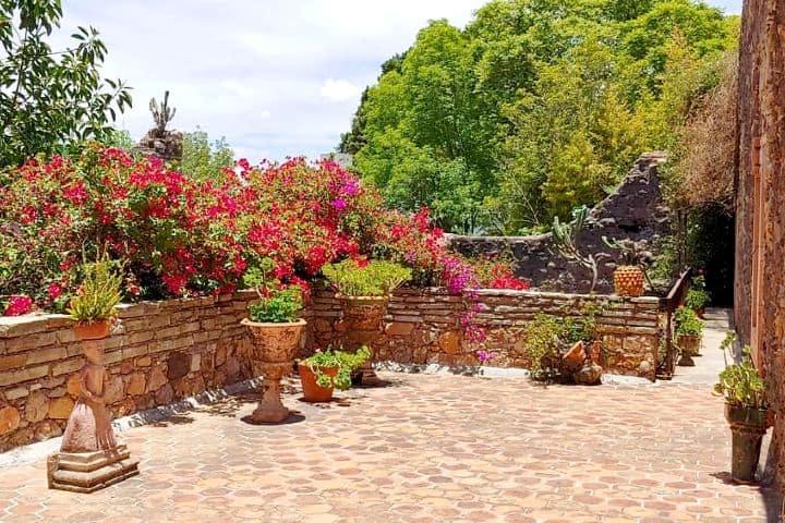 Tomate una foto en la hermosa terraza del museo. Foto: minepao