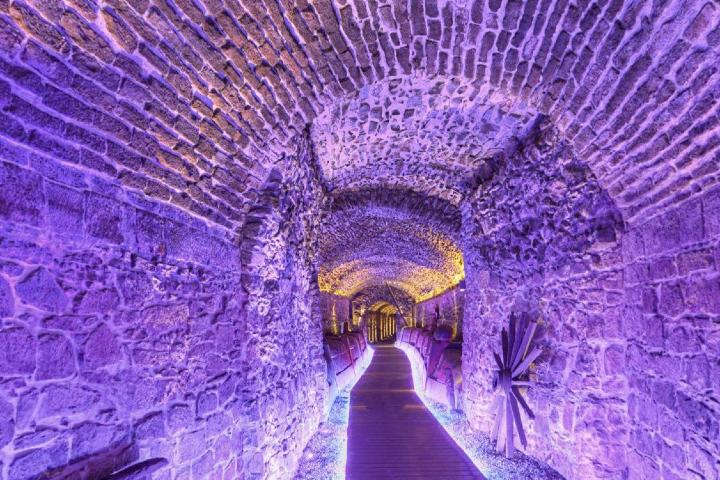 Descubre uno de los túneles secretos de Puebla. Foto: Twitter