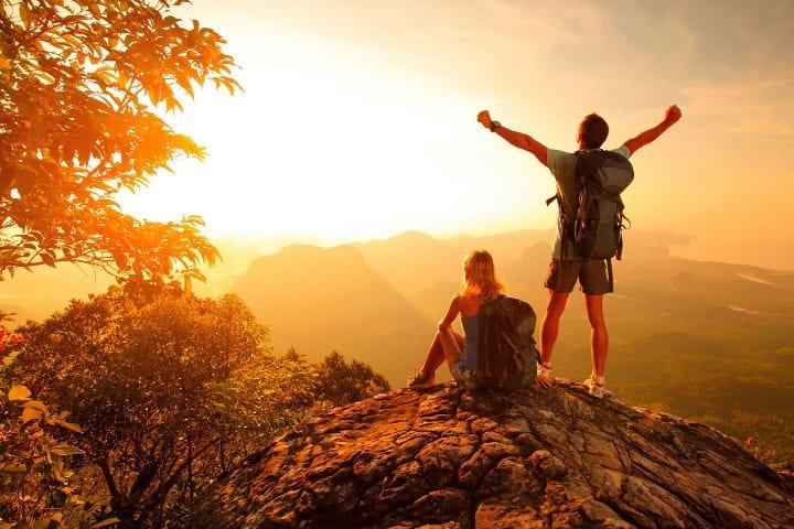 El llegar a lo más alto es el primer paso para realizar el rappel. Foto: El Informante