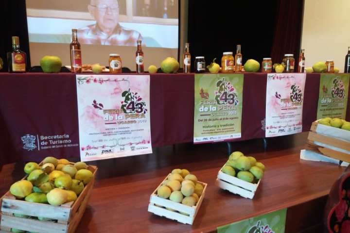 Feria de la pera,Michoacán FOTO: Morelia invita