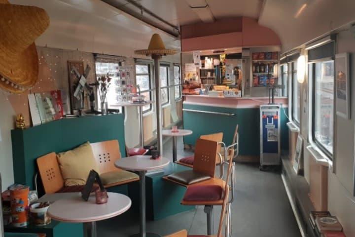 Un hostal único en su especie ¡Tendrás que hospedarte en él! Foto: Train Lodge