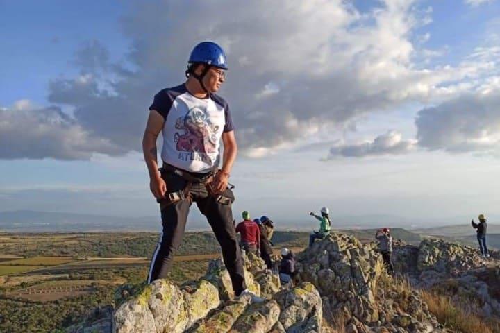 Una vez en la cima no querrás bajar ¡Las vistas son hermosas! Foto: Marco Daniel Guzmán