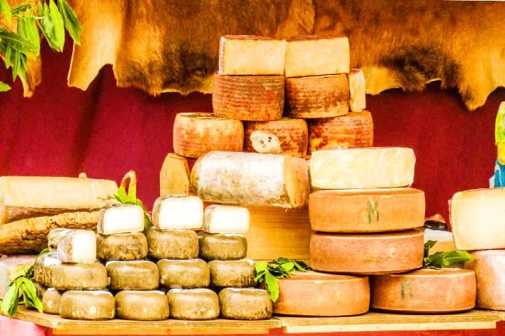 Festival de quesos italianos en la CDMX