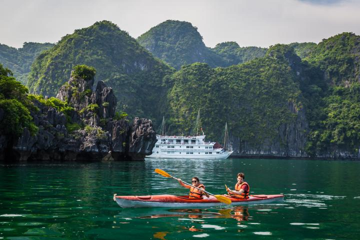 Viaje en kayak. Foto: Viajes Asiáticos