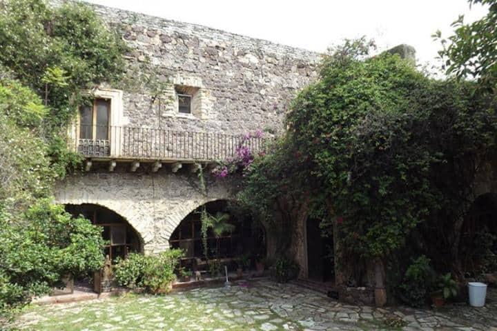 Visita cada rincón de la ex hacienda en Guanajuato. Foto: Museo Gene Byron
