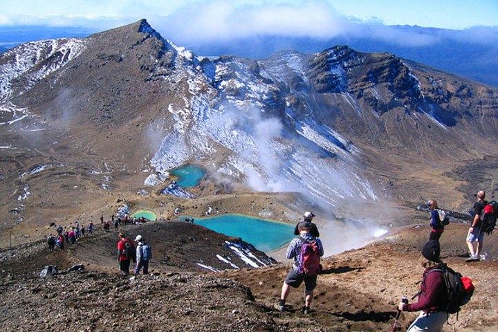 Vista de las aguas y volcanes_Parque nacional_Tongariro_dondeterminaelinfinito.blogspot.com