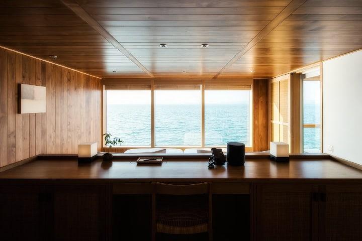 La vista desde el interior del crucero Guntû de Japón es impresionante. Foto: Yatzer